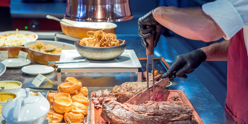 Beef Carvery at Columbia Steak House